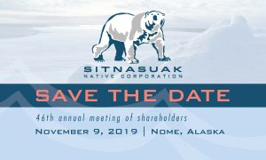 Save the Date 46th Annual Meeting Nov 9 2019