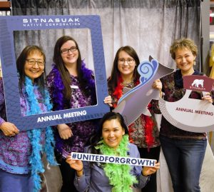 Shareholder staff at 46th annual meeting